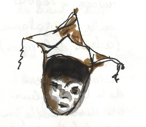 Bombara - chapeau dogon