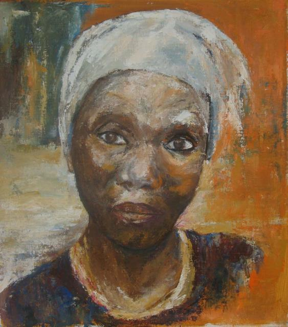 PORTRAITS  - Femme africaine
